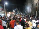 Mexico city 5 de mayo pedestrian street
