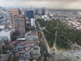 Mexico city view from torre Latinoamericana