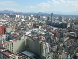 Mexico city view from hilton