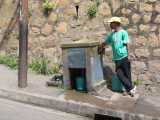 Antananarivo neighborhood clean water pump