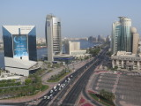 Dubai view from hilton dubai creek