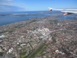 above Kogarah Sydney to Avalon flight