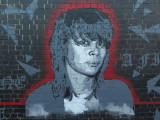 mural of Chrissy Amphlett