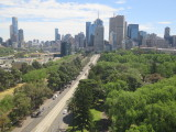 Melbourne view from Hilton on the park