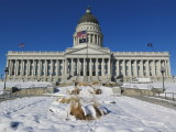 Salt Lake City state capitol