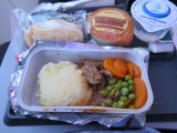 Virgin Australia meal in economy Melbourne to Perth