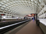 Washington DC Farragut West metro station