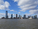 Jersey City viewed from Lower Manhattan