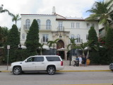 South Beach Miami the house of the late Gianni Versace