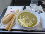 Royal Brunei airlines part of meal