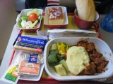 lunch in economy South African airlines Lilongwe to  Johannesburg