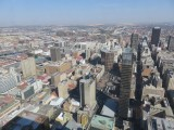 Johannesburg view from Top of Africa