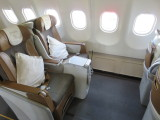 South African Airlines business class seat