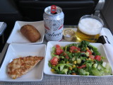 lunch on American Airlines Dallas to Los Angeles