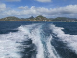 On the ferry from Philipsburg to Gustavia