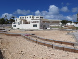 Anguilla a nearly completed house