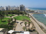 Tel Aviv view from Hilton hotel