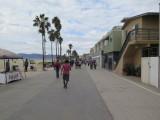 walking to Santa Monica from Venice beach