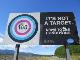 sign between Taupo and Palmerston North