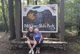 Visiting family and State Park Cabins