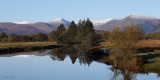 The Endrick Water and the Glen Luss hills from Woodend Bridge