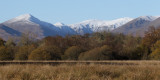 Low Mains, Gartfairn Wood and the Glen Luss hills