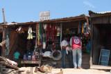 Roadside car accessory business in Tana