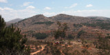 Roadside view in highlands between Tana and Antsirabe