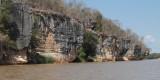The limestone cliffs of the Manambolo Gorge