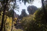 The highest point of Great Tsingy