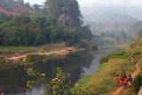River in Ranomafana town