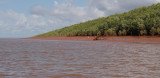 On the Betsiboka Estuary - even the rivers are red in Madagascar