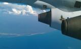 Last view of Madagascar heading for Jo'burg