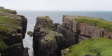 Cliffs and headlands on Handa Island