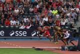 Men's 100m heat