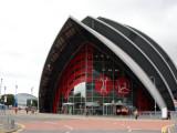 The so called armadillo building-the Scottish Conference Centre
