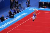 Scottish gymnast on the floor