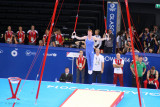 Dan Purvis of Scotland on the rings