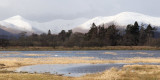 Wards Pond and the hills around Glen Luss