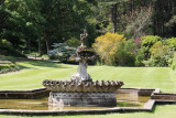 Fountain in Culzean Castle gardens