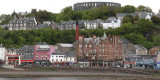 Oban from the ferry boat