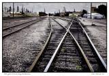 Rail yard  Ponca City,  Oklahoma
