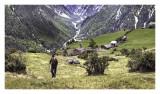 Strolling  Villager