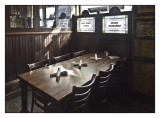 Pub Table Setting