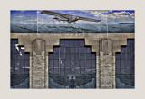 Facade detail, Wichita Aviation Museum