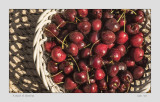 A Bowl of Sunlit Cherries