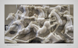 Chinese Horse Bas Relief