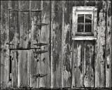 Weathered Barn Wall, Cowley County, Kansas