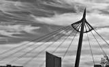 Bridge Support, Keeper of the Plains, Wichita