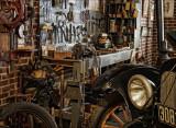 Museum Garage Shop Display